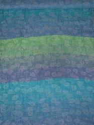 Leinen mit Farbverlauf und Muster