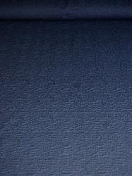 Cloqué Strick-Jersey mit Struktur dunkelblau