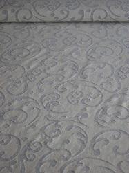 Jaquardstrick Baumwolle wollweiß/grau tollesMuster