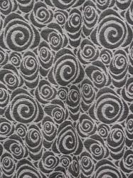 Spiralen schwarz-grau